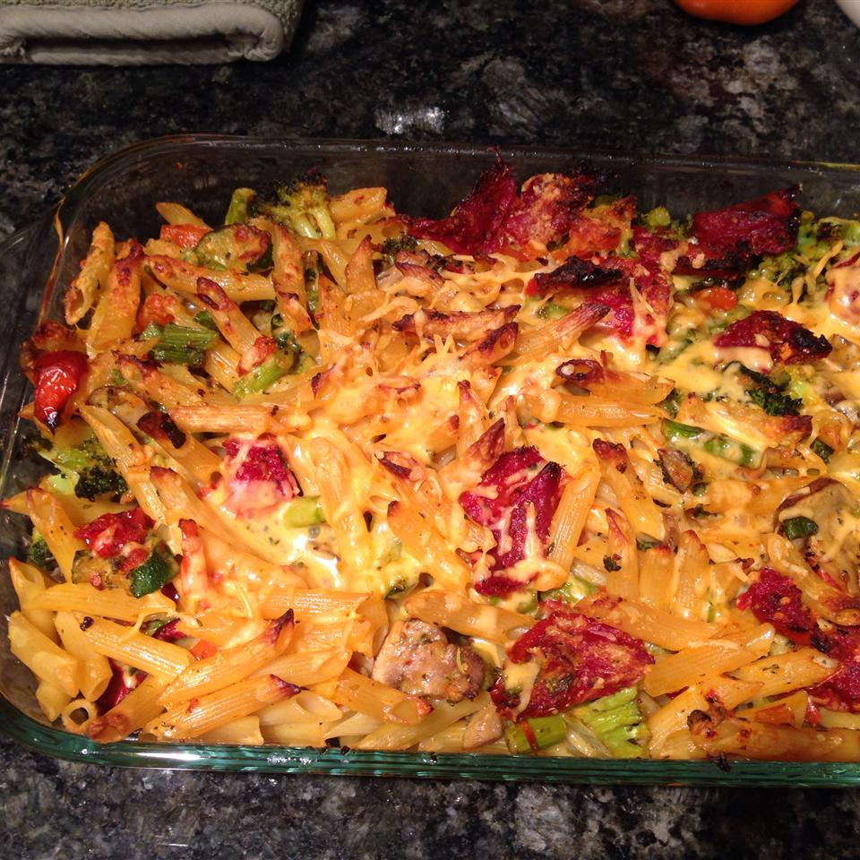 Penne Pasta with Veggies persiancook