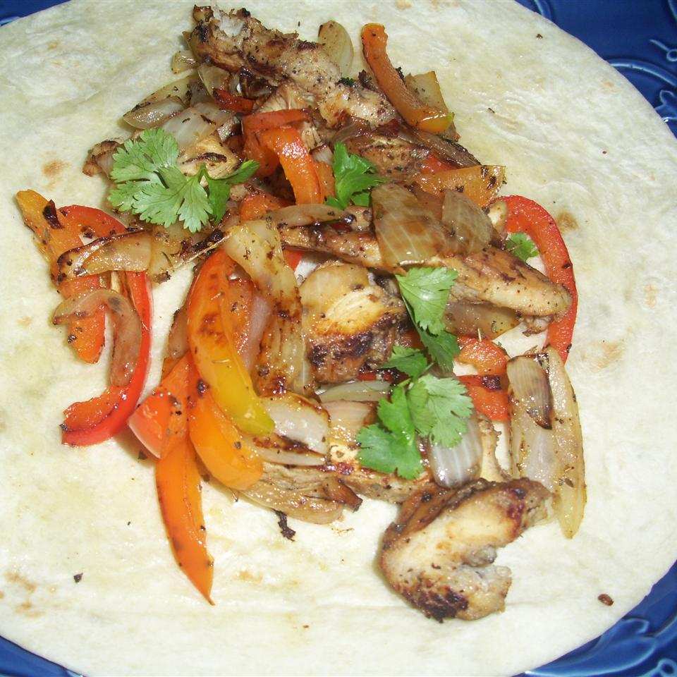 Chicken Fajitas from Mazola(R)