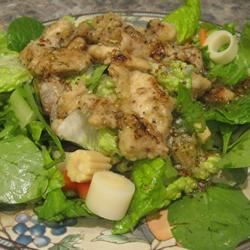 Warm and Limey Chicken Salad Chef4Six