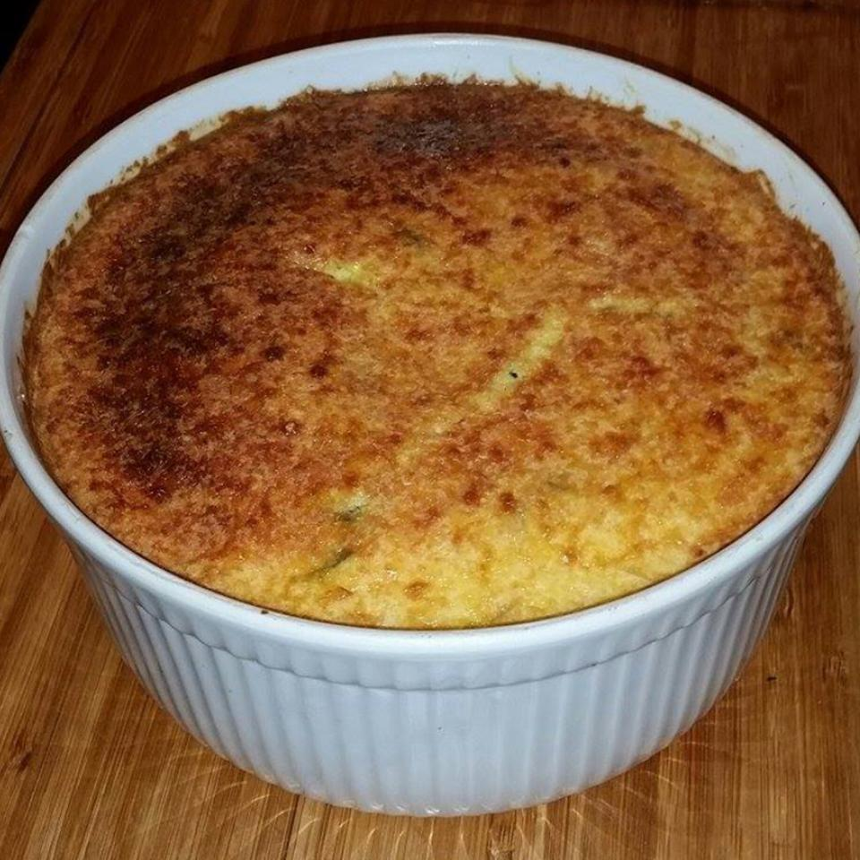Corn and Crab Pudding
