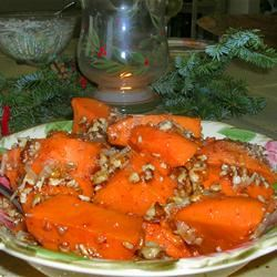 Maple Glazed Sweet Potatoes PULLEYHEATHER