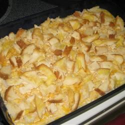 Cheesy Chicken and Rice Casserole sjsholar