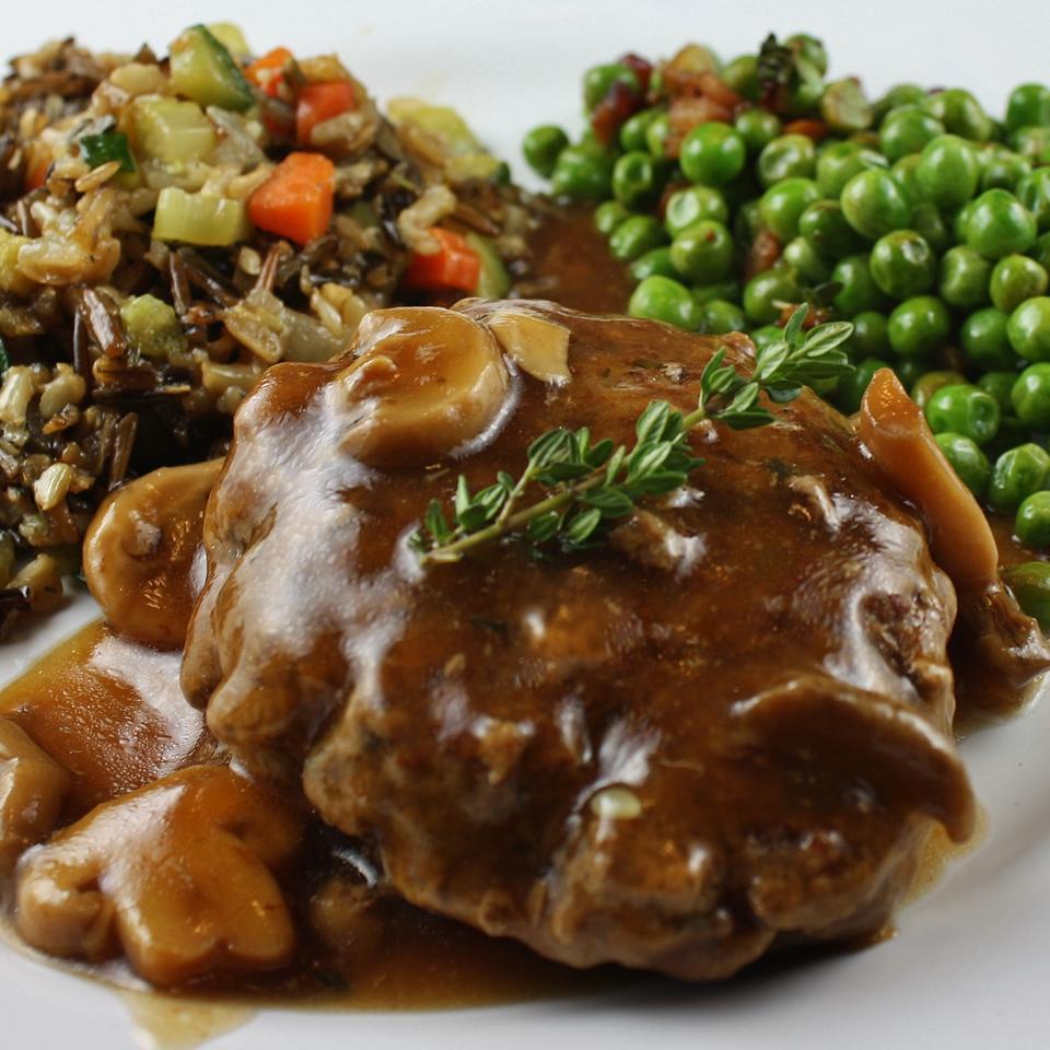 Salisbury Steak with Mushrooms image