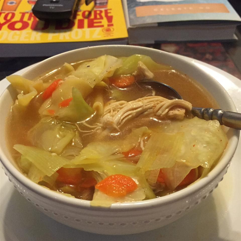 Thai Chicken Cabbage Soup nrogers7