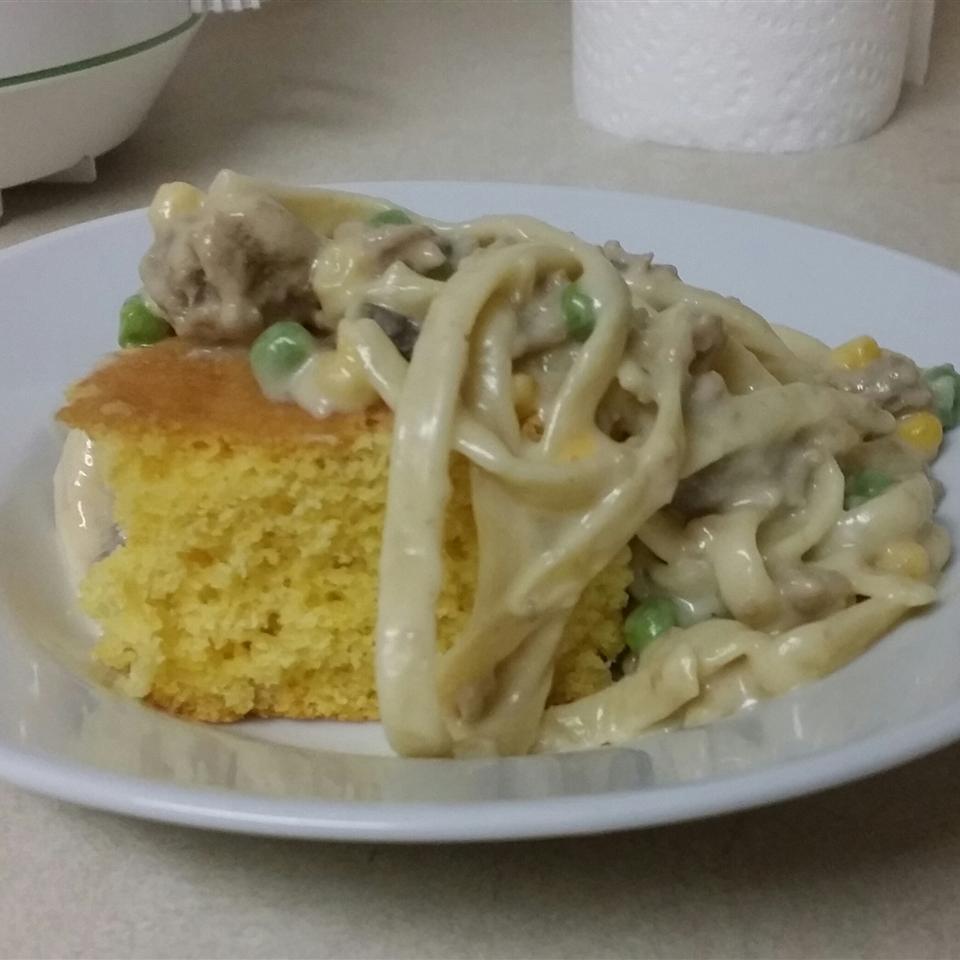 Corn Noodle Casserole