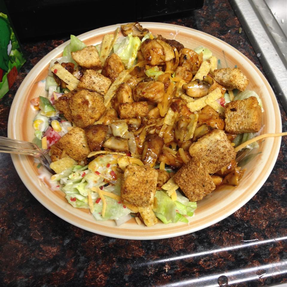BBQ Chicken Chopped Salad Matte