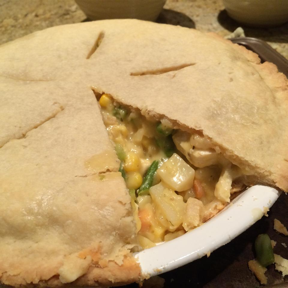 Tofu Vegetable Pot Pie