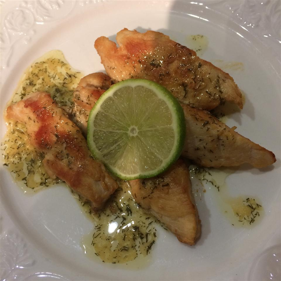 Chicken with Lime Butter dhot