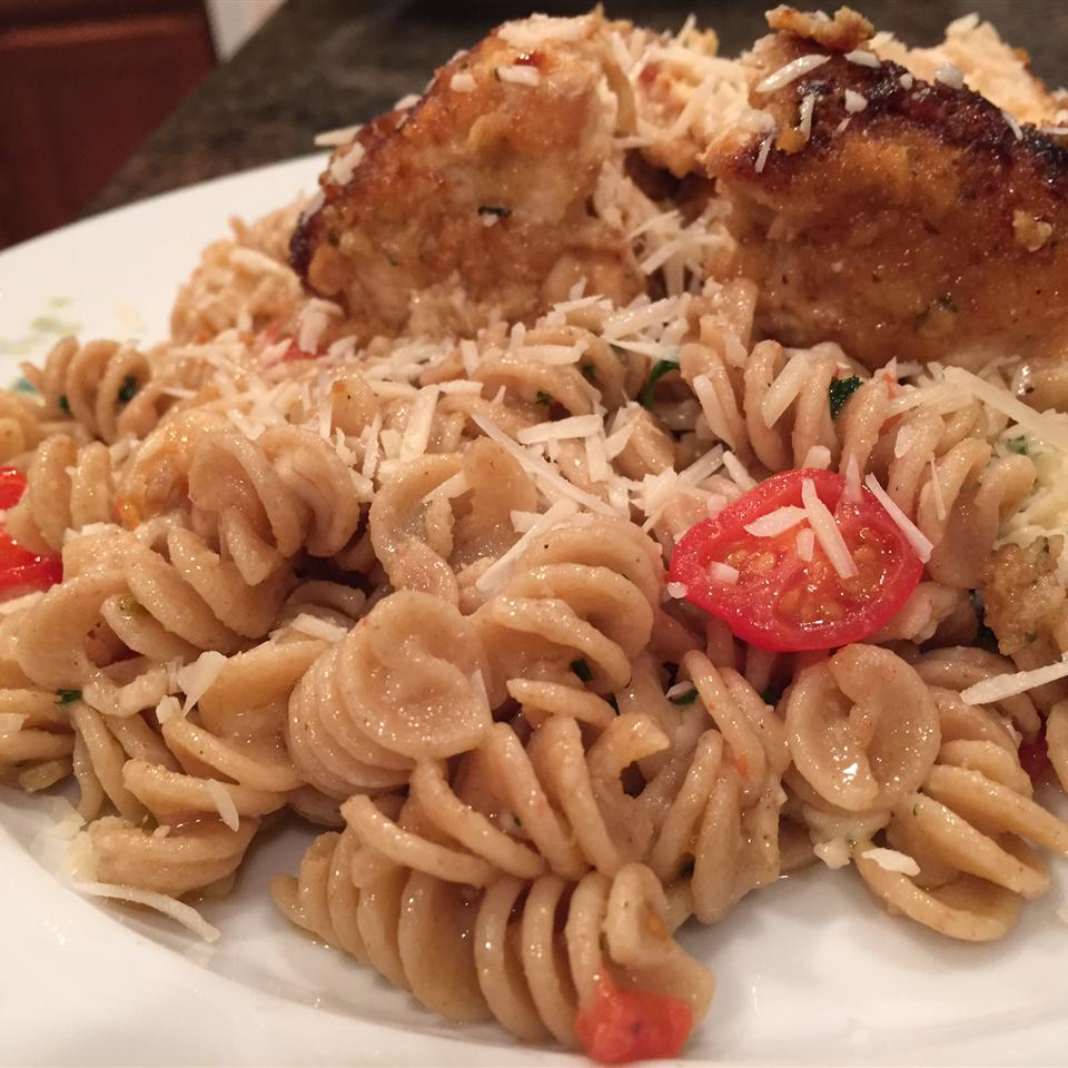 Anthony's Lime Chicken with Pasta Jenni