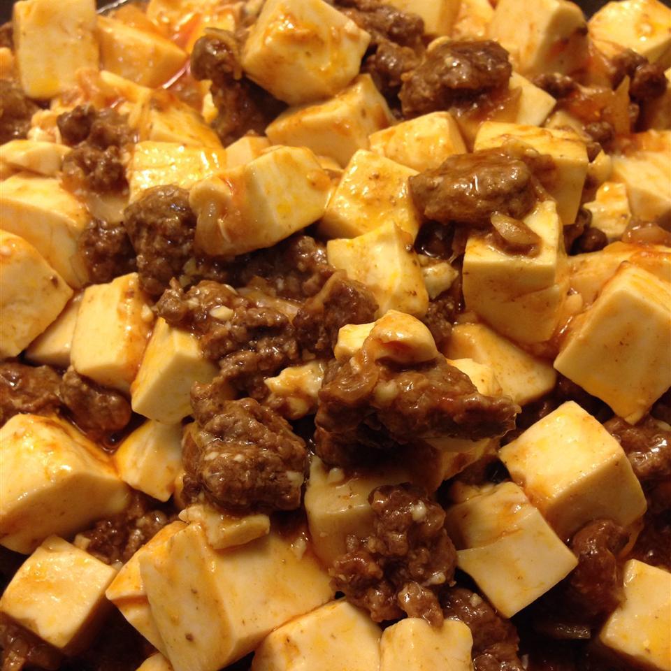 Tofu with Ground Pork Stir-Fry Kevin Pham