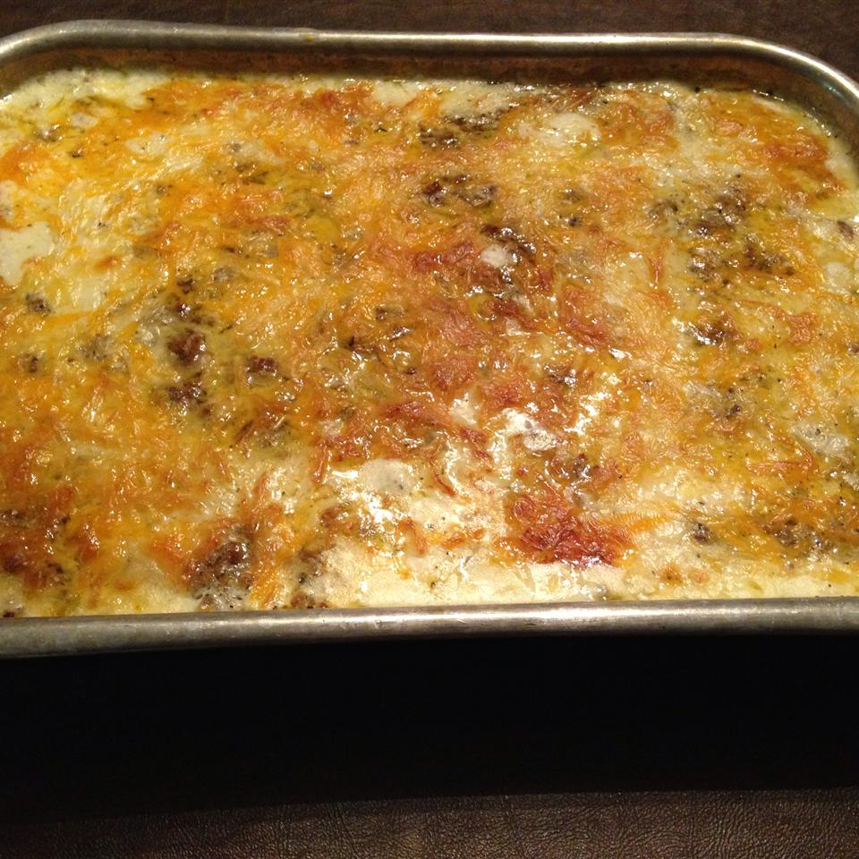 Jeannie's Famous Potato Hamburger Casserole