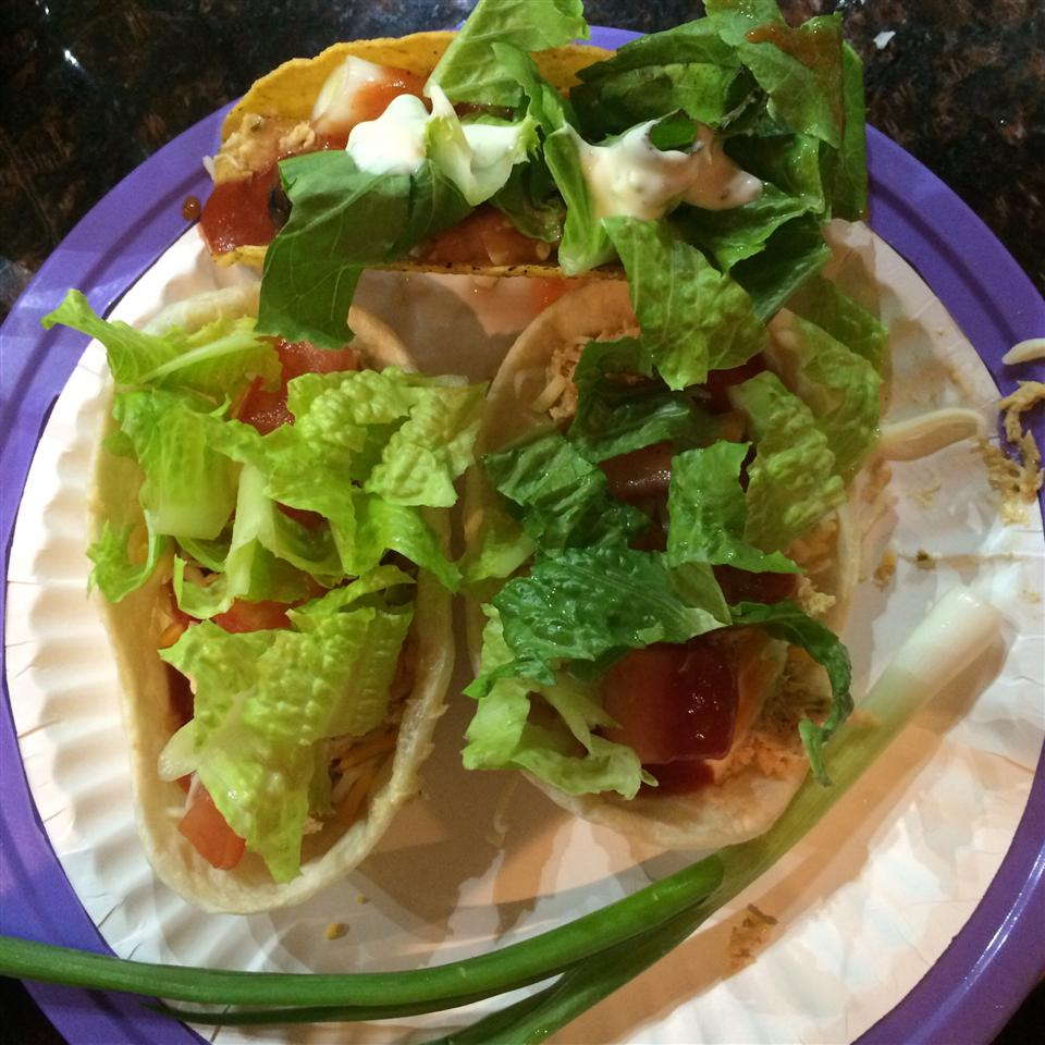 Chicken Ranch Tacos Janet