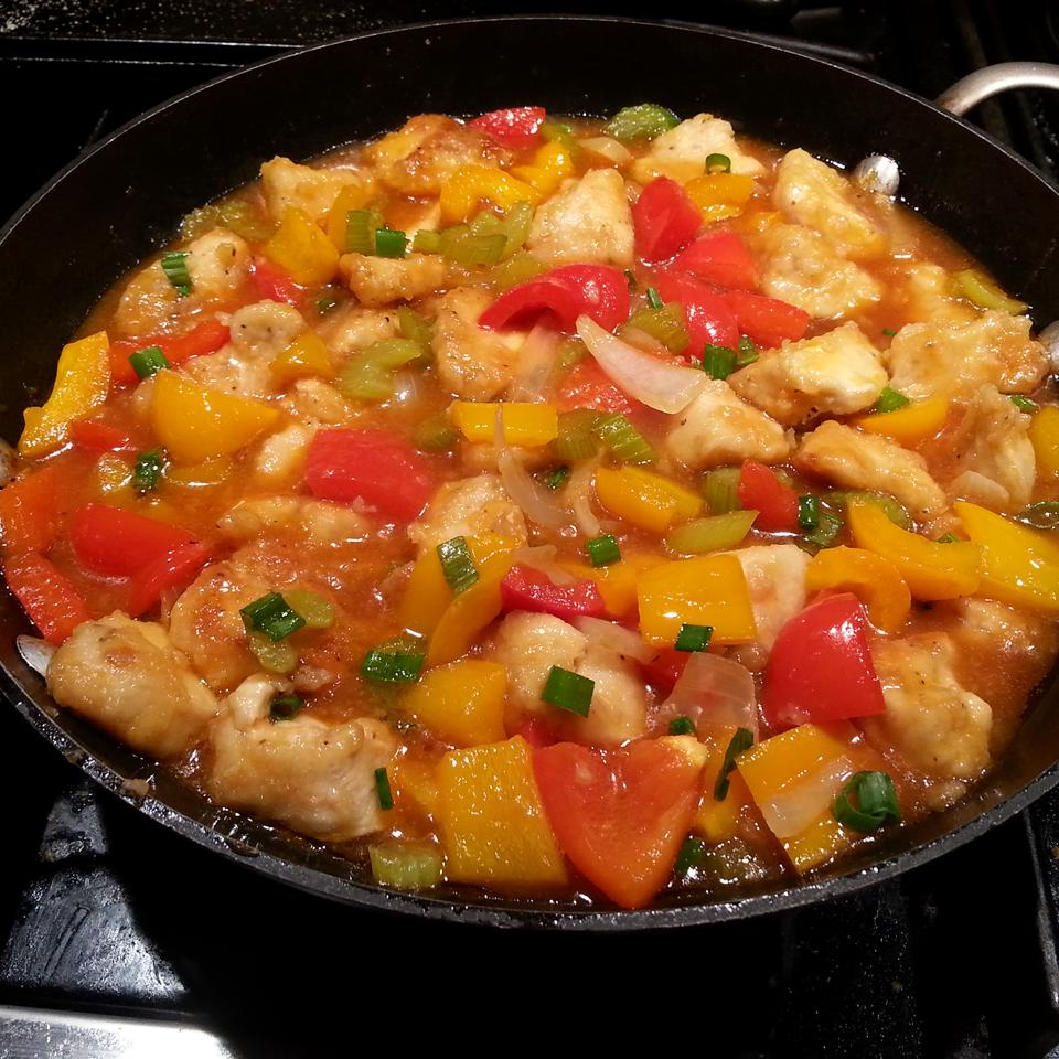 Easy Sweet and Sour Chicken joan