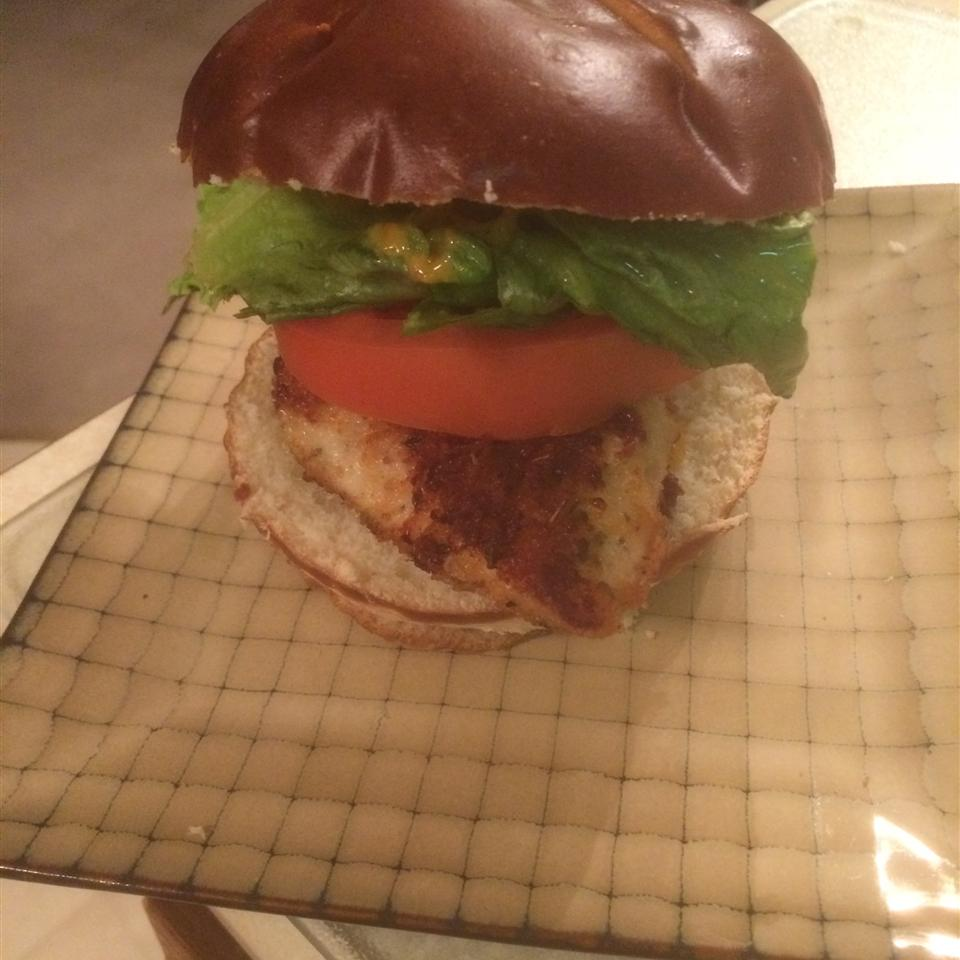 Two-Handed Crispy Fried Chicken Sandwiches baking daddy