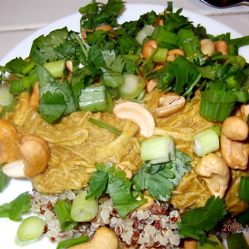 Sweet Thai-Style Chicken Bowl live2eat