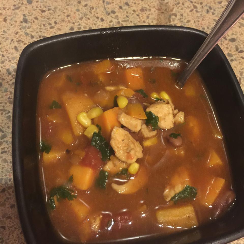 Spicy Chicken and Sweet Potato Stew Eunice Quiroz Cruz