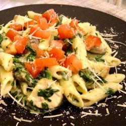 Pesto Chicken Florentine