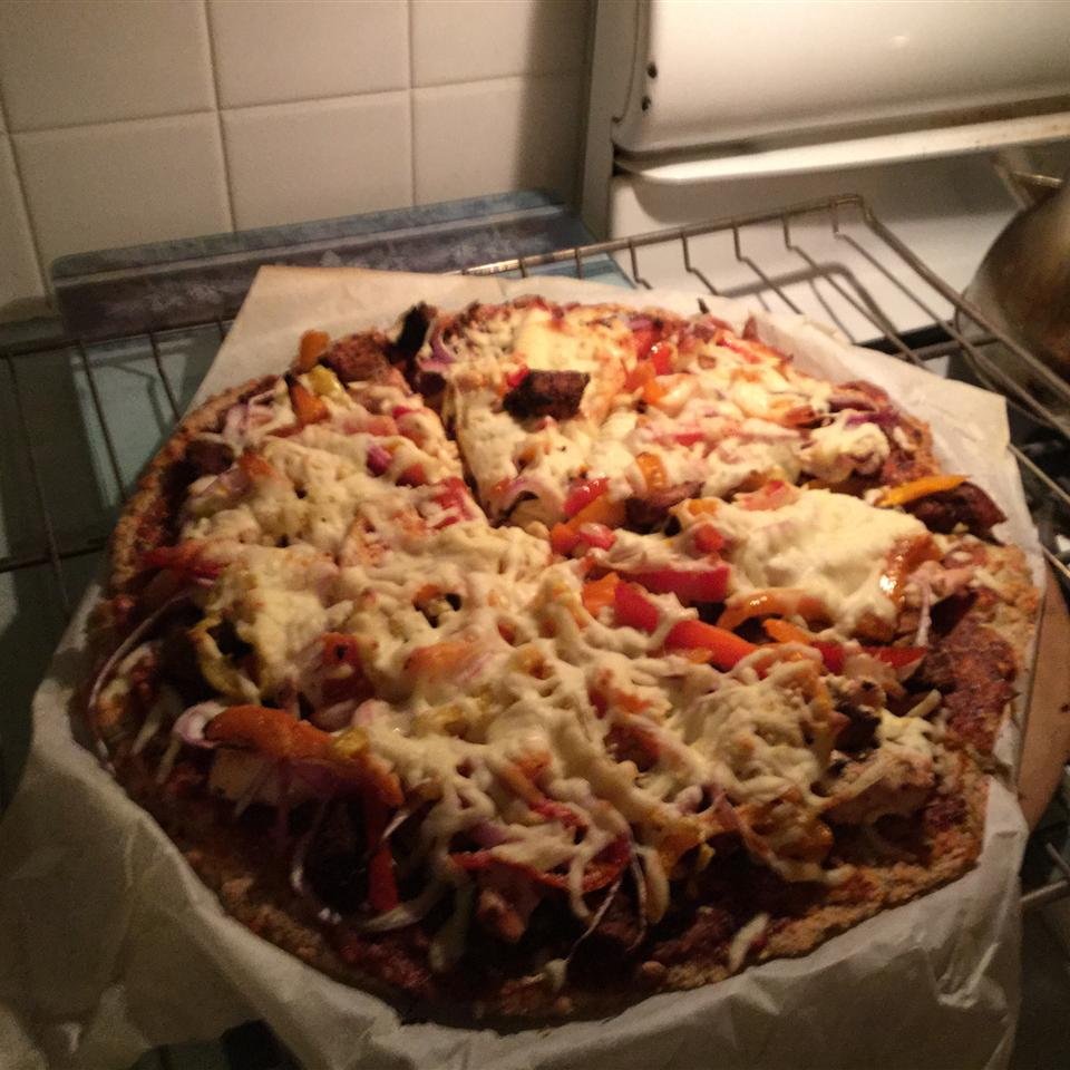 Chicken and Chourico Pizza Marina