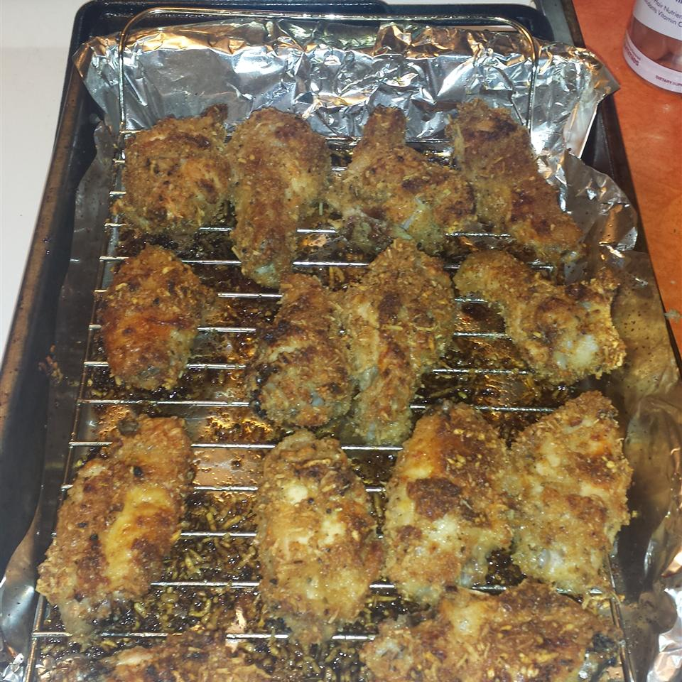 Oven Fried Chicken Wings Shavonne Southerland