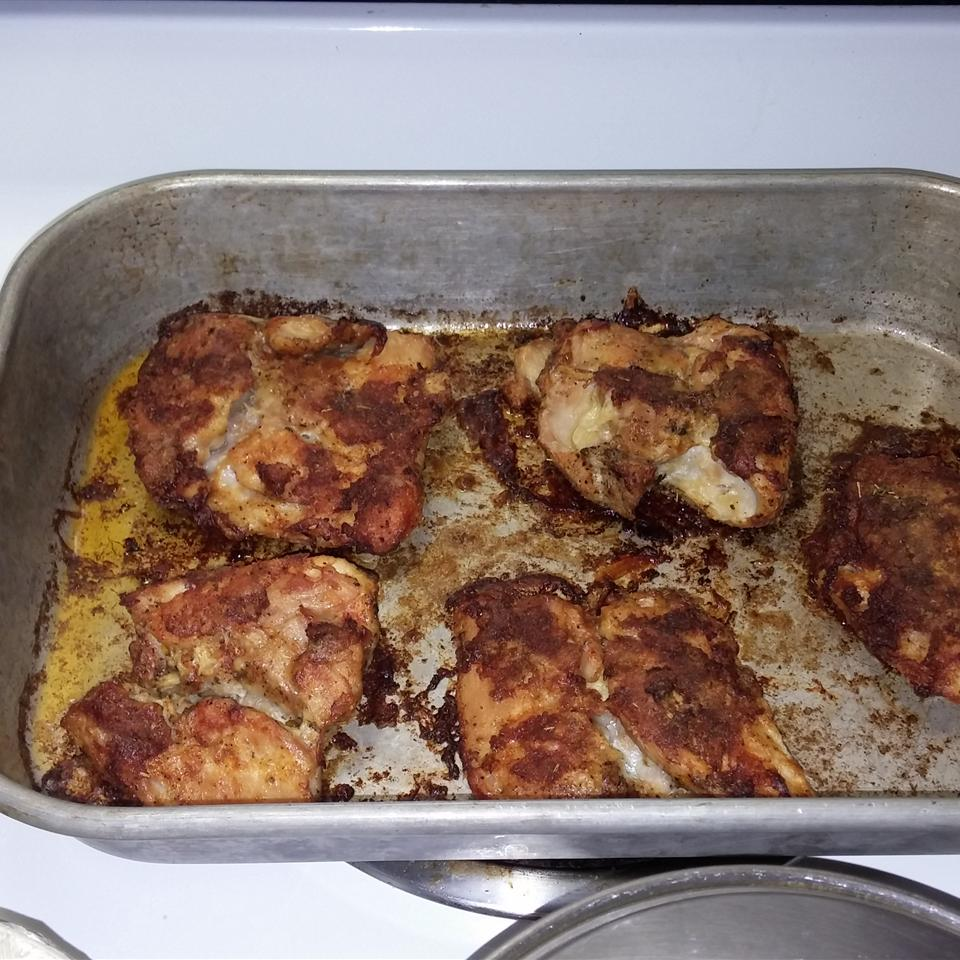 Oven-Baked Chicken