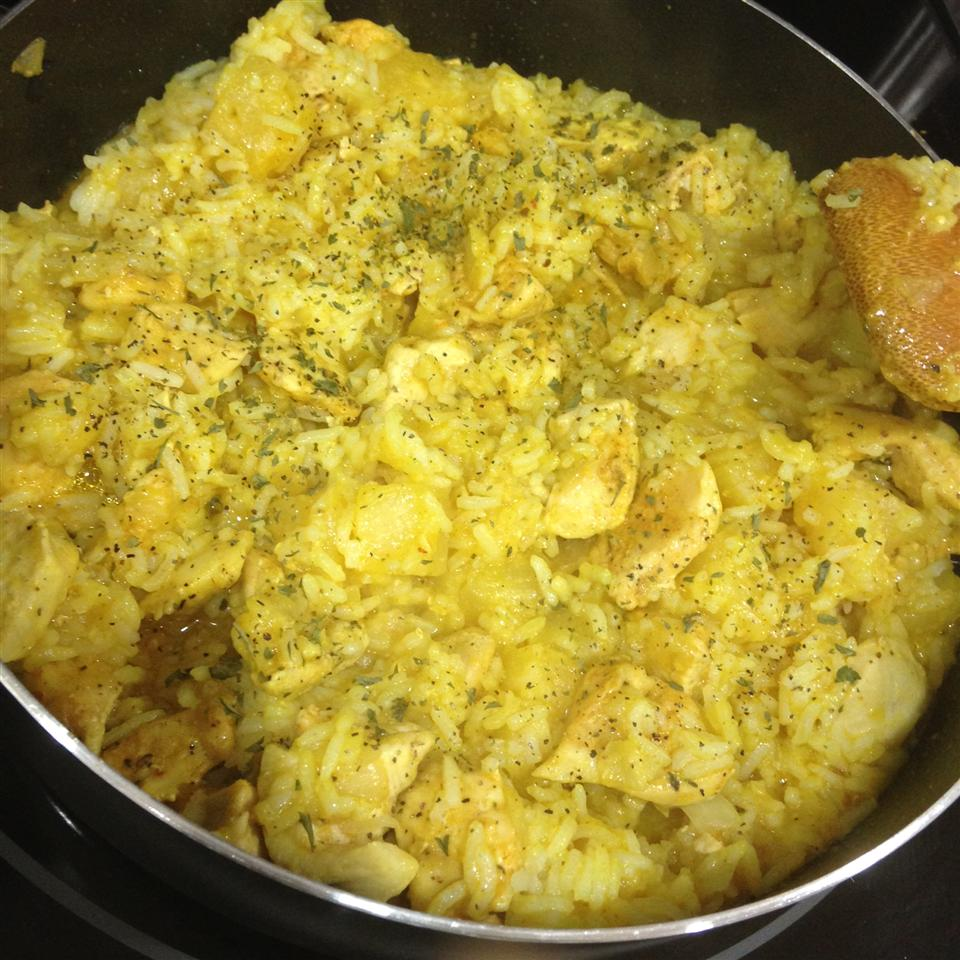 Curry Pineapple Fried Rice