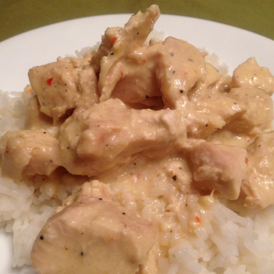 Creamy Italian Slow Cooker Chicken CHEFCATHY