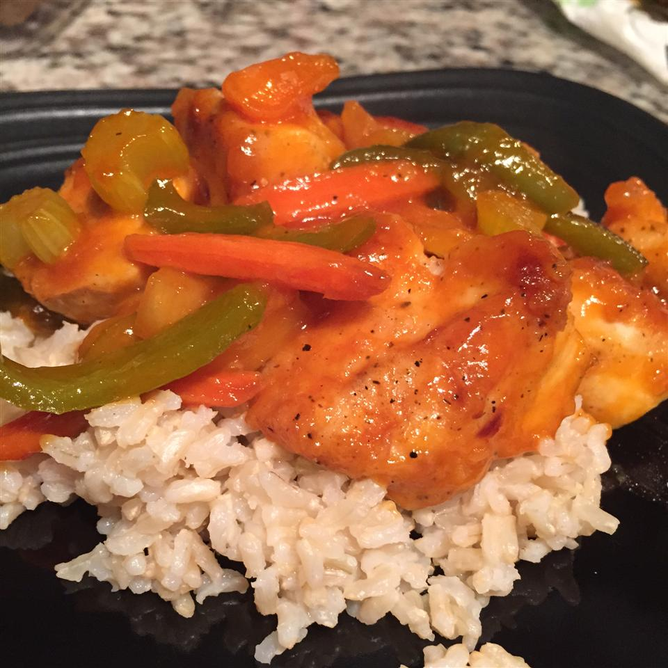 Easy Sweet and Sour Chicken wmbloomer