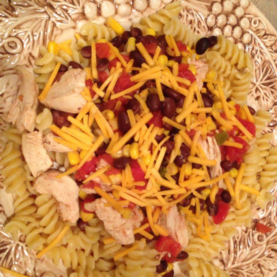 Black Bean and Corn Pasta with Chicken TheChambers