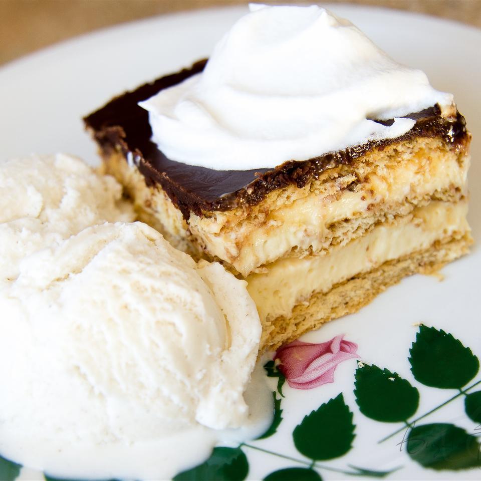No-Bake Chocolate Eclair Cake image
