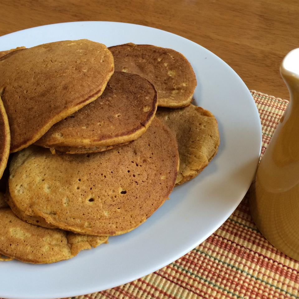 Helen's Priceless Pumpkin Pancakes SWiles