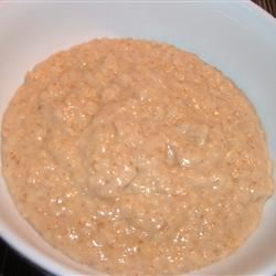 Quick and Easy Peanut Butter Oatmeal Fit&Healthy Mom