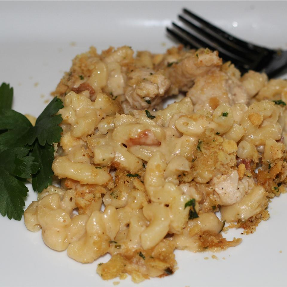 Garlic Chicken Mac and Cheese Karen Dean Covington