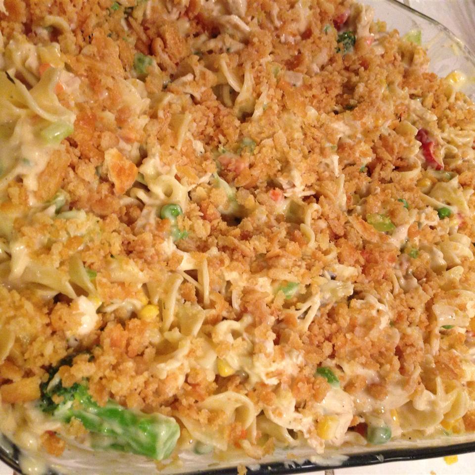 Chicken Noodle Casserole I Mad233