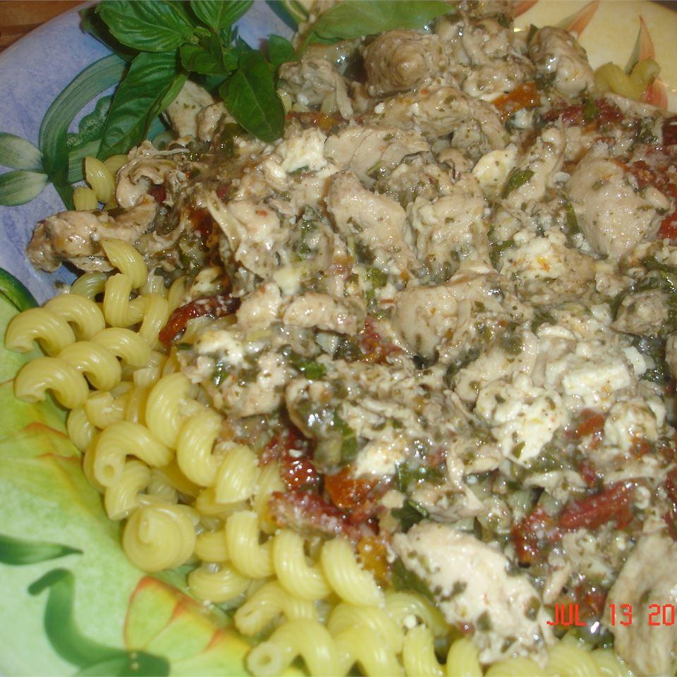 Chicken Pesto a la Lisa