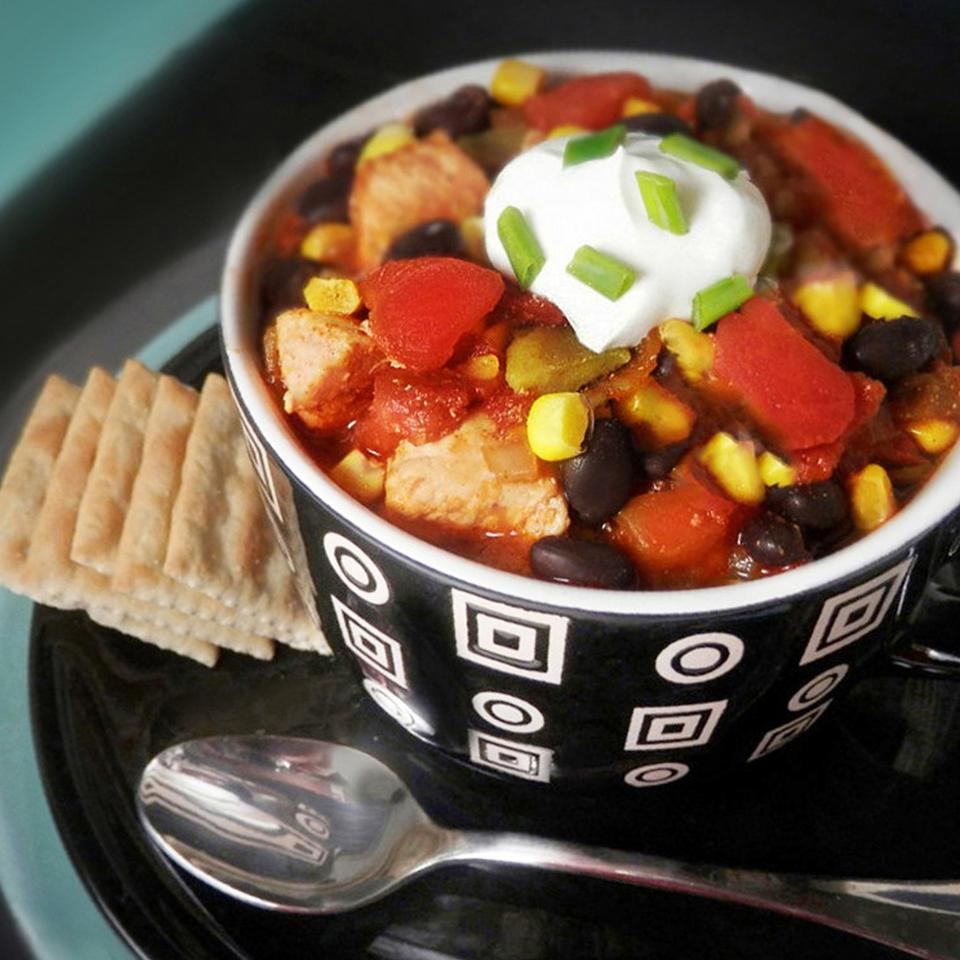 Fifteen Minute Chicken Chili Mixit