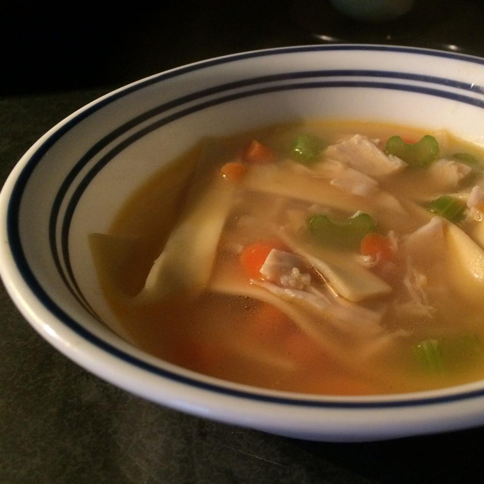 Chef John's Homemade Chicken Noodle Soup CK Cooks