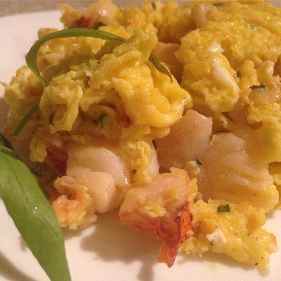 Lobster Scrambled Eggs karen