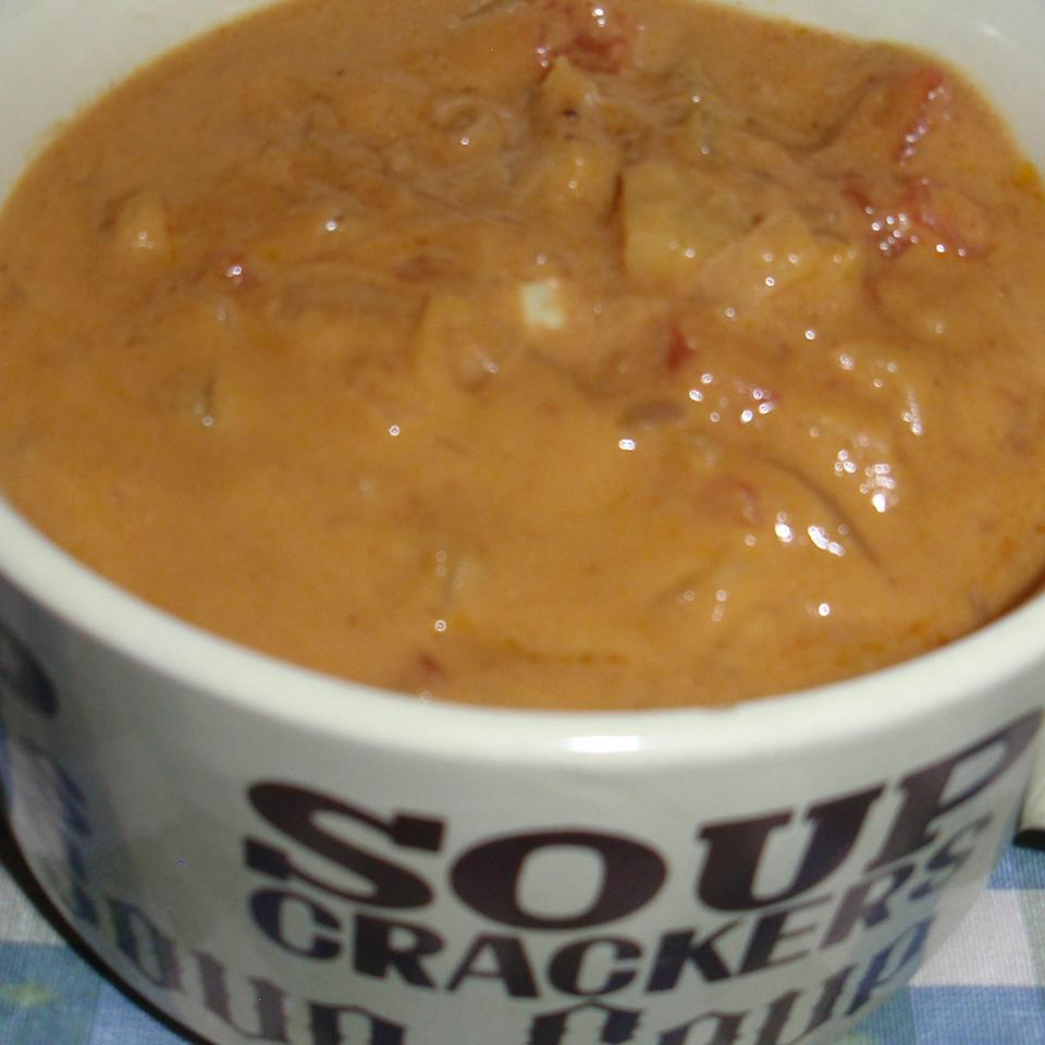 Saharan West African Peanut and Pineapple Soup