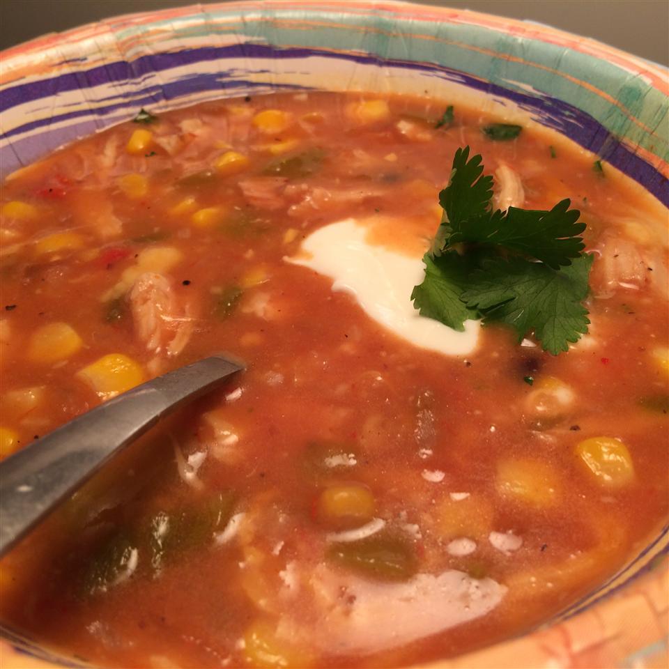 Chicken Corn Black Bean Soup Love2CookMommy