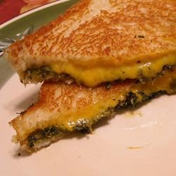 Quick and Easy Grilled Cheese jofdo
