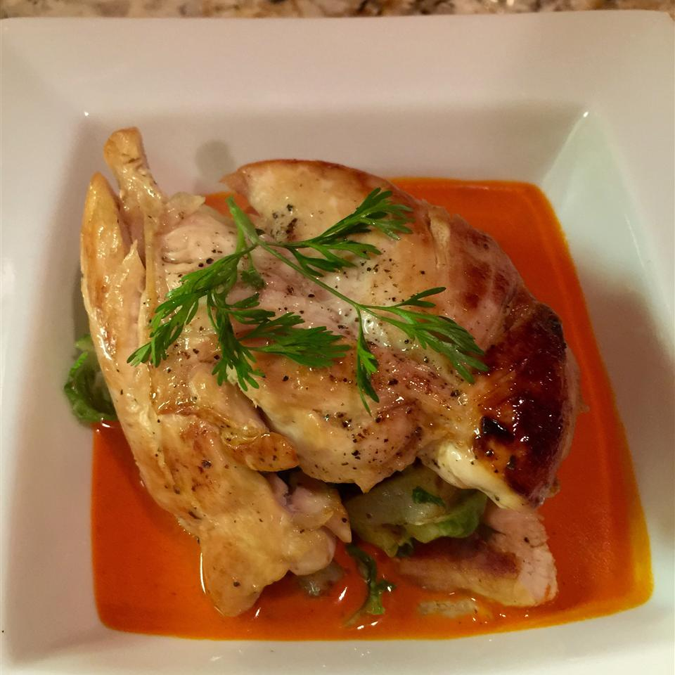 Chicken with Red Pepper Cream Sauce SOAPYGIRL