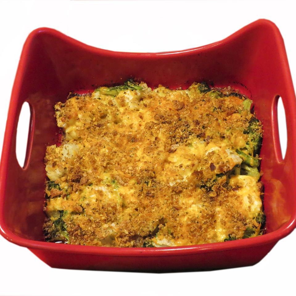 Broccoli Cauliflower Casserole Linda A. Waterhouse
