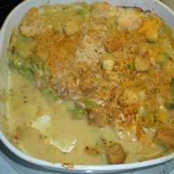 Cheesy Chicken Broccoli Bake Evangeline