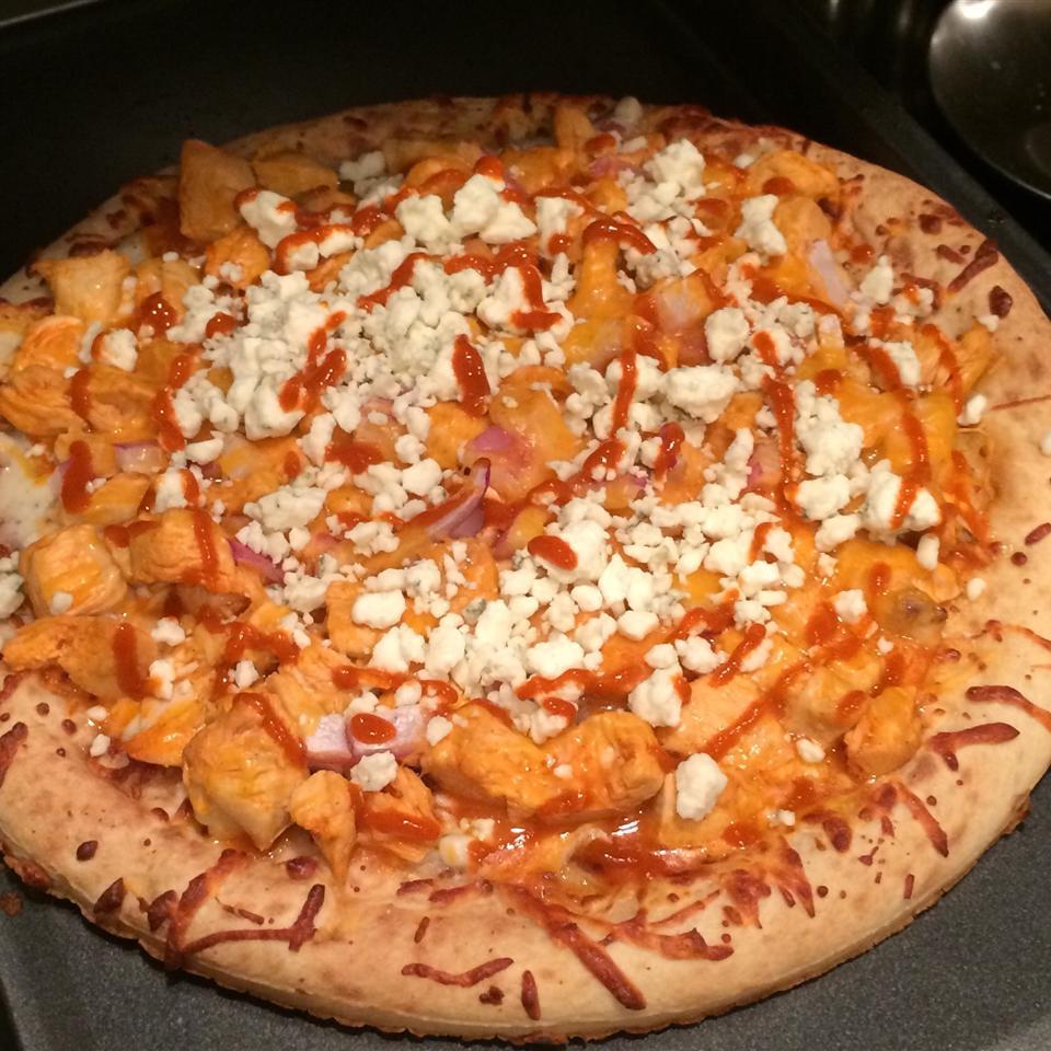 Buffalo Style Chicken Pizza Jenna