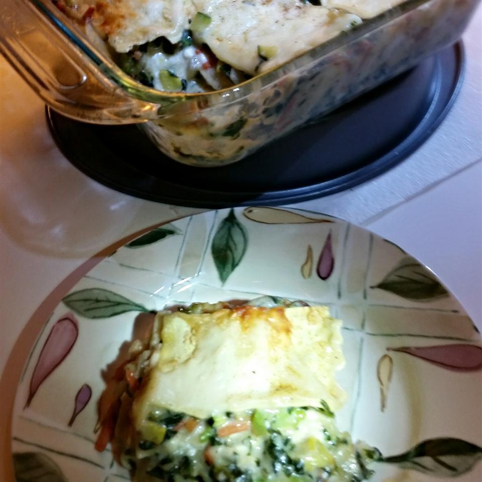 Broccoli and Carrot Lasagna Grandpa H