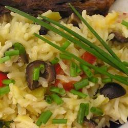 Cheesy Confetti Rice gapch1026