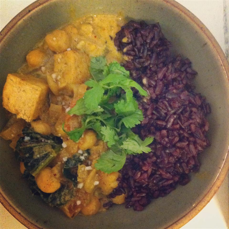 Thai Curry Tofu Ana Carrie Yu Fisher