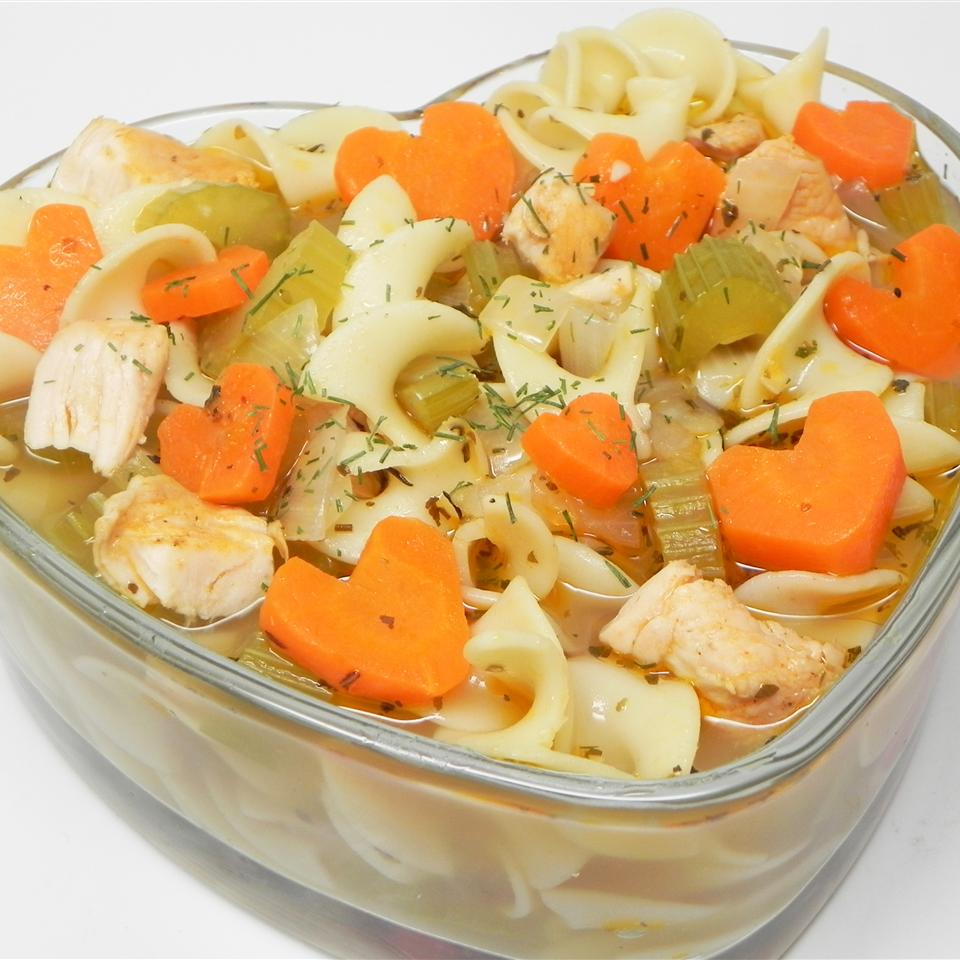 NO YOLKS(R) Chicken Noodle Soup Soup Loving Nicole