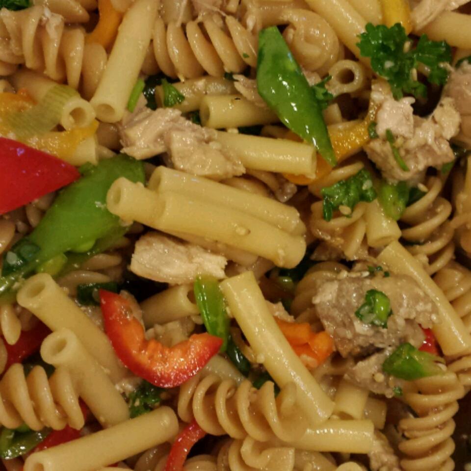 Sesame Chicken Pasta Salad Dobie Lover