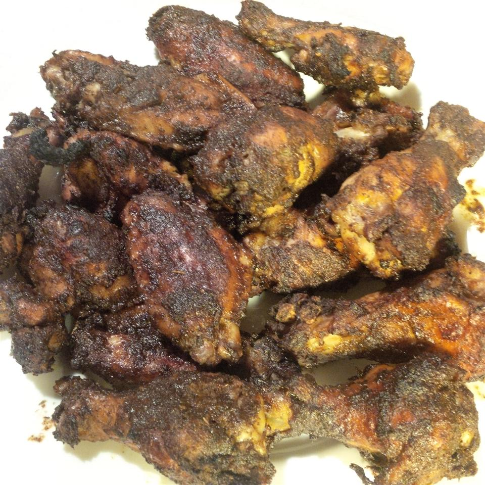Jerk Chicken Wings A.G.